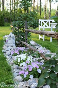 piha,puutarha,istutus,kukkapenkki,kivet