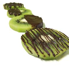 Kiwi and chocolate / Chocolat et kiwi