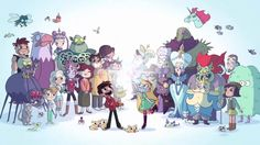 Image result for star vs the forces of evil opening