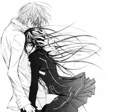 Vampire Knight. Even though I like Kaname a lot, I'm rooting for these two. Zero and Yuki forever! ♡°♡