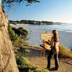 Share the creative spirit―and find a great memento―in these coastal havens.