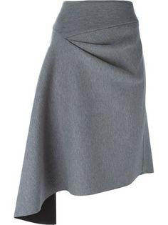 DKNY юбка асимметричного кроя