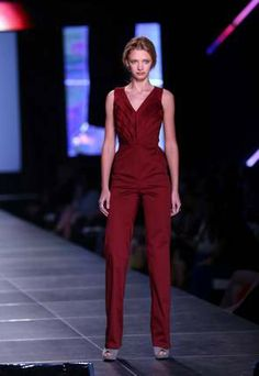 Emerging Designer Semifinalist Rebecca Walker's runway show at Night Two of Baker Motor Company's Charleston Fashion Week. Charleston Style, Night Life, Runway, Jumpsuit, Entertaining, Amazing, How To Wear, Shopping, Color