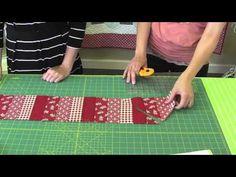▶ How to Make Angela Yosten's Baby Argyle Quilt - Fat Quarter Shop - YouTube