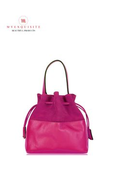 Bucket Handbags, Italian Leather, Compact, Range, Colours, Purses, Wallet, Red, Accessories