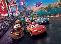 Disney Pixar Cars World Race Wallpaper Mural by Consalnet -- Click image for more details.