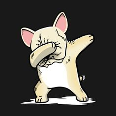 fc34a13af Check out this awesome 'Funny+Dabbing+Cream+French+Bulldog+Dog