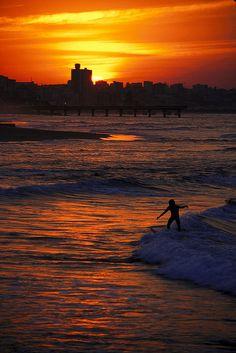 Port Elizabeth Sunset - South Africa. For visit, hire a car from : www.carrentalportelizabethairport.com