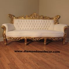"""Fabulous Baroque """"Isabelle"""" Louis XVI French Reproduction Exquisite mahogany hand carved sofa"""
