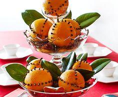 clove-studded oranges