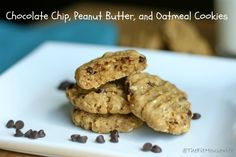 I love Chocolate Chip Oatmeal Cookies, so I think adding PB to them would make them SO much better.