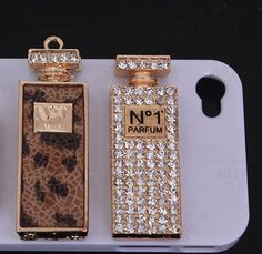 Tall no1 leopard perfume bottle alloy diy bling phone deco  | chriszcoolstuff - Craft Supplies on ArtFire Craft Supplies, Perfume Bottles, Bling, Deco, Phone, Crafts, Deko, Telephone, Perfume Bottle