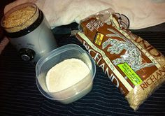 Bella Bama: Homemade Babyfood: Rice Cereal ~ Baby's First Food