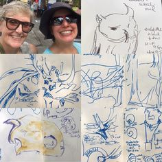 Bird & Butterfly event still happening. Fabulous park! I've left with intent to return for more! It was awesome meeting @vapeurpunk !!!! #sketchingdrawing #SketchySaturday #305artist #pendrawing