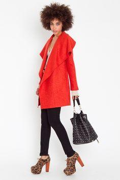 Blood Orange Coat