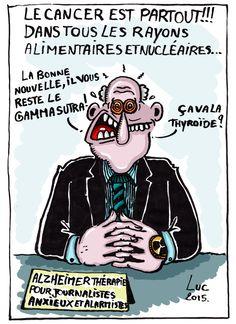 #cancer #alimentaires #nucleaires #anxiogene #alarmiste #derision #journalistique