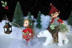 Christmas, elves, bjd, realpuki, doll