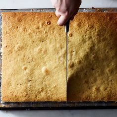 How to Make a Layer Cake Using One Sheet Pan