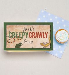 Creepy Crawly Reptile Lunch Box