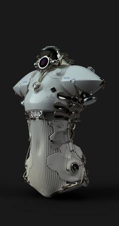 Wholesale ATV - Largest Powersports ATVs Retail Distributor - Things Guys Like - Motorcycle Mode Cyberpunk, Cyberpunk Fashion, Steampunk Fashion, Gothic Fashion, Arte Robot, Robot Art, Robot Concept Art, Armor Concept, Kleidung Design