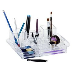 $10 Caboodles Clear Organizer Tray Target.com