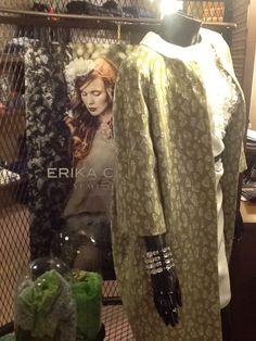 Cappotto Consuelo Erika Cavallini-Semicouture springsummer2014 Lilly abbigliamento