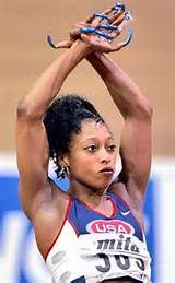 Gail Devers Nails It from The Olympics in Pop Culture Big Black Woman, Black Women, Gail Devers, Dj Booth, Live And Learn, Double Team, Olympic Sports, Sports Women, Female Sports