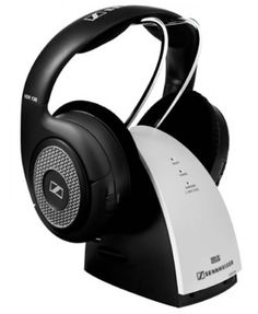 SENNHEISER RS130 SYSTEM RF OPEN.  The RS 130 wireless RF headphone system with switchable surround sound is an ideal choice for both hi-fi and TV use. The lightweight RS 130 lets you enjoy freedom of movement from any audio source. In addition, the transmitter features a convenient metal stand for storing and recharging the headphones.