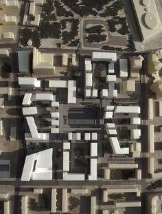 Проект застройки квартала в районе Хамовники города Москвы