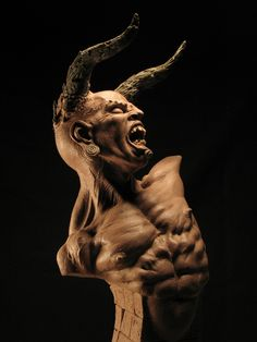 Christopher Stratos clay sculpture 1