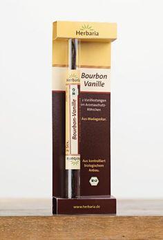 BIO Bourbon-Vanille  Handgeerntete echte Bourbon-Vanilleschoten aus Madagaskar. Typisch holziges Aroma mit leichter Rum-Nuance