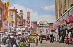 昭和スポット巡り on twitter / 昭和30年代 神戸 新開地