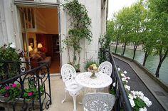 Accomodation Ile Saint Louis, Paris vacation apartment rental, Rose