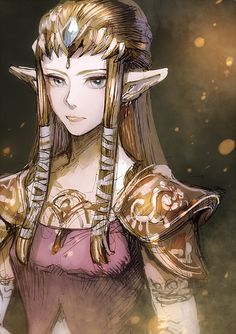 Princess Zelda by @torebian_ on Twitter #nintendo #legendofzelda #fanart