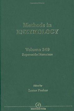 Superoxide Dismutase, Volume 349 (Methods in Enzymology) by Lester Packer. $106.29. 437 pages. Publisher: Academic Press; 1 edition (March 8, 2002)