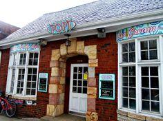 Around Roanoke, VA (A Daily Photo Blog) pop's ice cream bar, grandin village-this used to be my library.