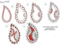 How to Draw Paisley - Bing Images