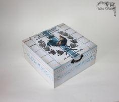 Shabby chic  tea box, tea, tea bag, tea box, wood by ultroviolet. Explore more products on http://ultroviolet.etsy.com