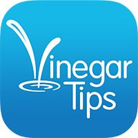 I love cleaning with vinegar, and look at all these uses for it!