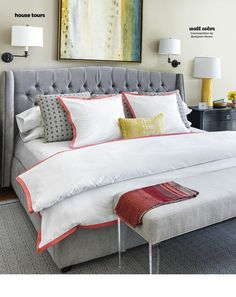 adler shelter fabric platform bed with nailheads housewife commerce pinterest platform beds upholstery fabrics and fabrics
