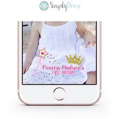 Custom Snapchat Birthday Geofilter #2: f a5f737ac0a83f princess birthday snapchat