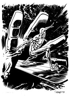 Silver Surfer // Chris Samnee