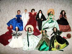 Gone with the Wind Barbie Have the whole collection including Mamie
