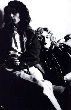 Jimmy Page & Robert Plant -- Led Zeppelin