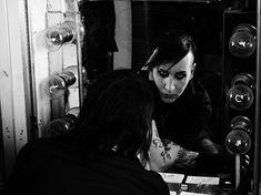 Marilyn Manson by Hedi Slimane