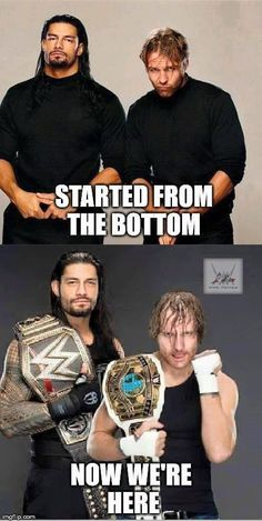 The Brothers are Finally Champions. The WWE World Heavyweight Champion Roman Reigns & The Intercontinental Champion Dean Ambrose Professional Wrestling, Wrestling Wwe, Humour, Wwe Roman Reigns, Wwe Divas, Videos, Wrestling Superstars, Wcw, Wwf
