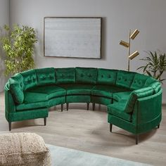 Round Sofa, Dream Furniture, Luxury Sofa, Modular Design, Panel Bed, Sectional Sofa, Living Room Decor, Upholstery, Luster