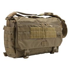 And here comes something hot for dads... a tactical messenger style diaper bag... cool, hugh?