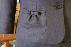 Jacket pocket detail