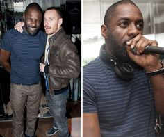 Idris Elba and Michael Fassbender in one picture?!  Be still my heart!